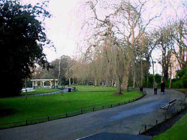 Inside St. Stephen's Green. Click to Enlarge